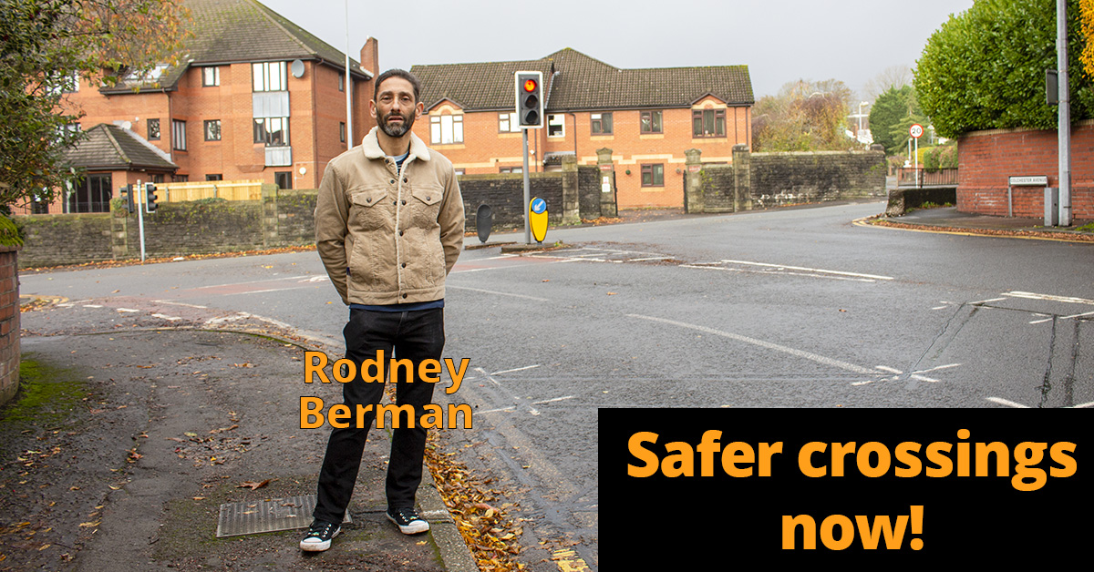 Safer crossings now!