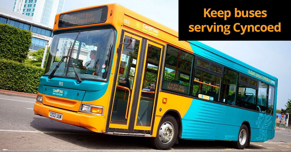 Keep buses serving Cyncoed