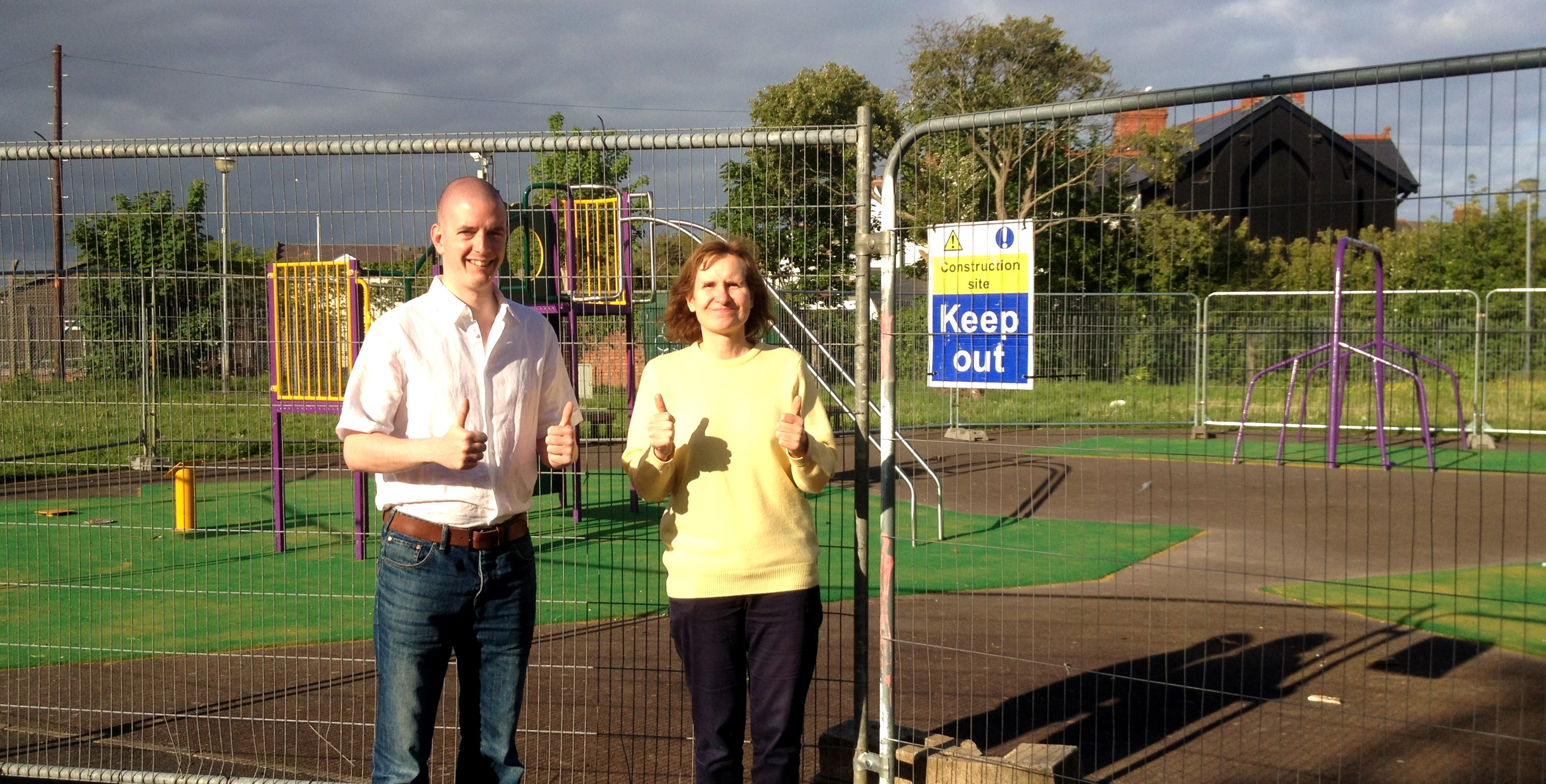 Liberal Democrats successful in improving playground