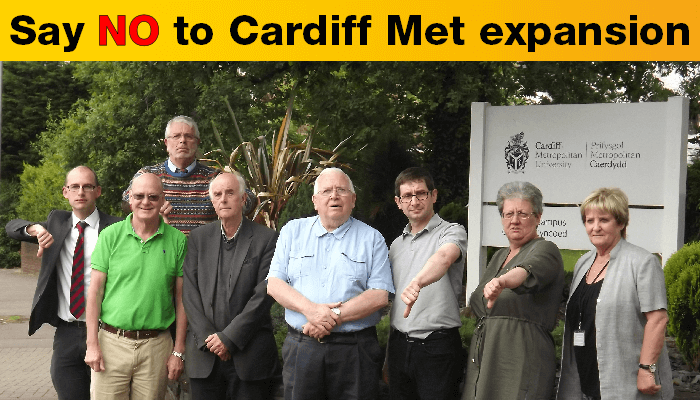 Help say no to Cardiff Met expansion