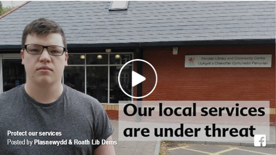 Protect services at Penylan Library and Community Centre