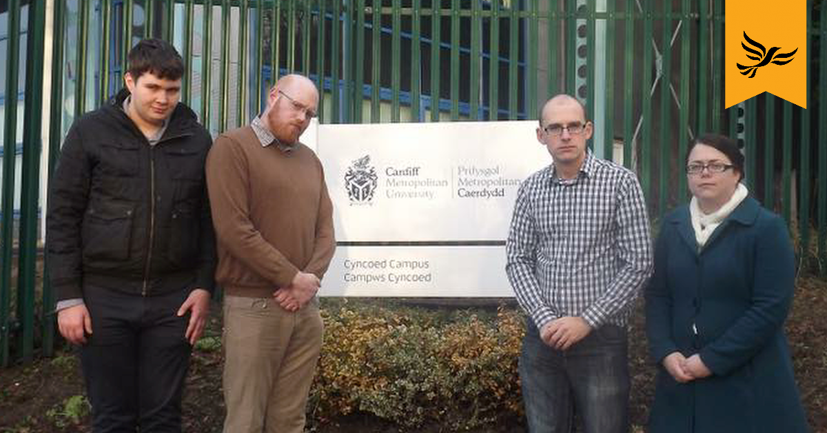 Planning committee backs local residents on Cardiff Met