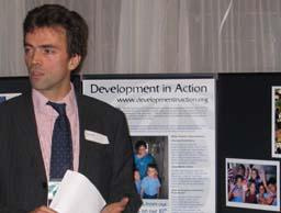 Tom Brake at Development in Action anniversary