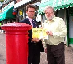 Tom And Derek - Post office campaign photo