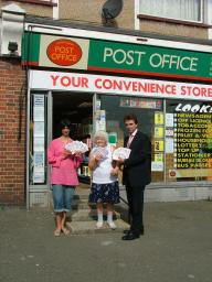 Tom Brake MP to secure future of the Post Office Card Account (POCA)