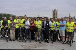 All Party Parliamentary Bike Ride showcases benefits of cycle training