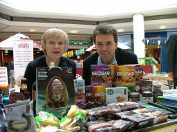 Anne and Tom Help Promote Fairtrade in Sutton