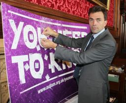 Tom Brake signs up to the pledge