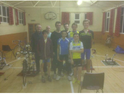 Tom at Sutton Cycling Club