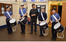 Tom Brake visited Sutton Sea Cadets. (Christine Hipkiss)