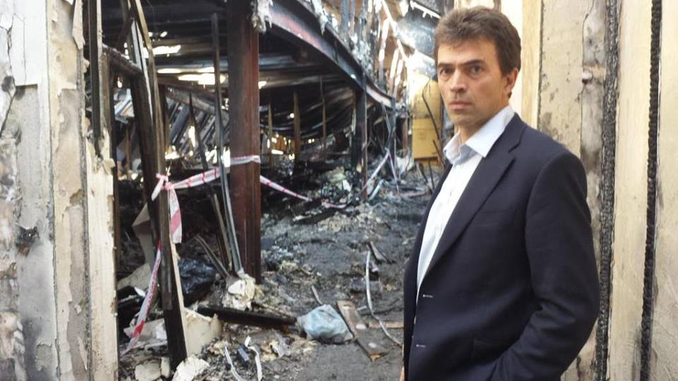 Tom Brake joins millions in celebrating the Morden Mosque reopening