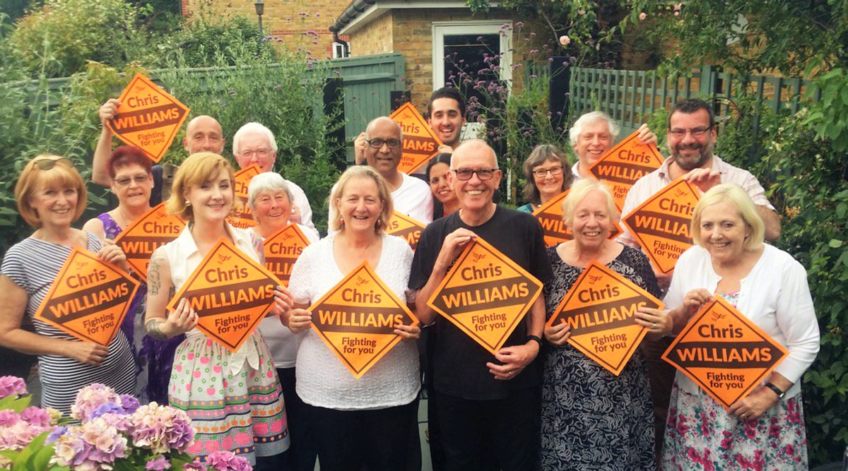 Chris Williams elected in Carshalton By-election hold