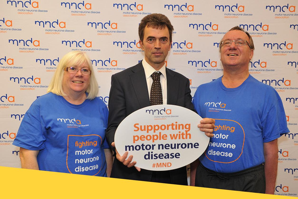 Brake hears from motor neurone disease patients for Motor neurone disease support