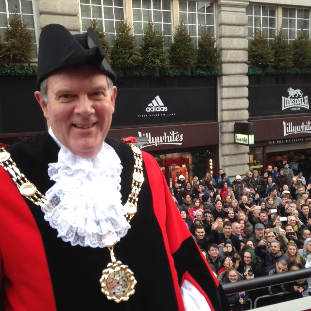 Sutton comes fourth in London New Year's Day Parade
