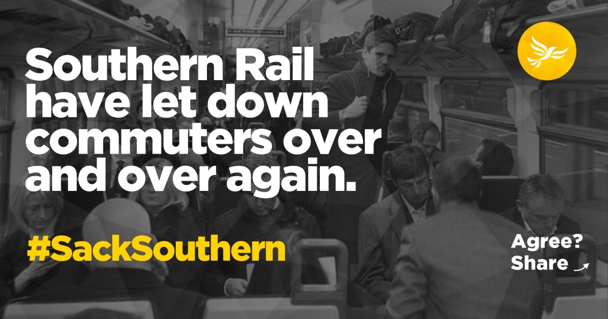 Sign the petition: Sack Southern