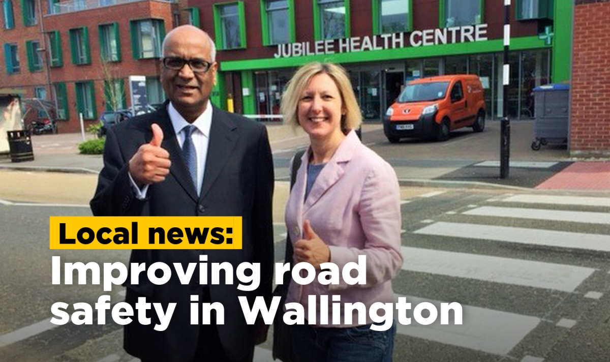 Improving road safety in Wallington
