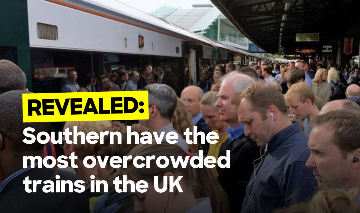 Brake slams Southern for having most overcrowded trains
