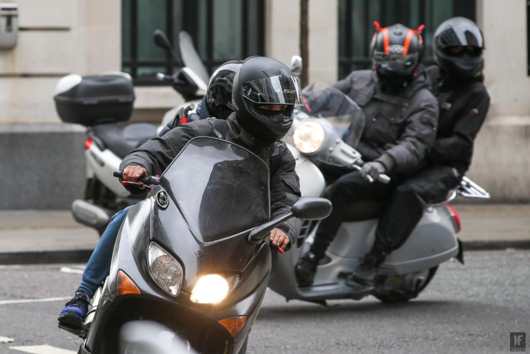 Worrying rise in moped crime in Sutton