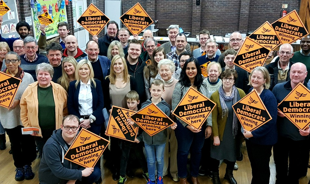 Sutton Lib Dems launch 2018 Manifesto