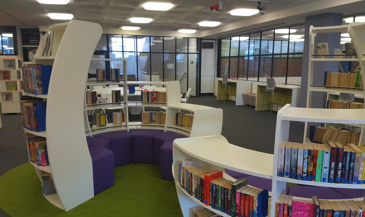 Sutton Library reopens today