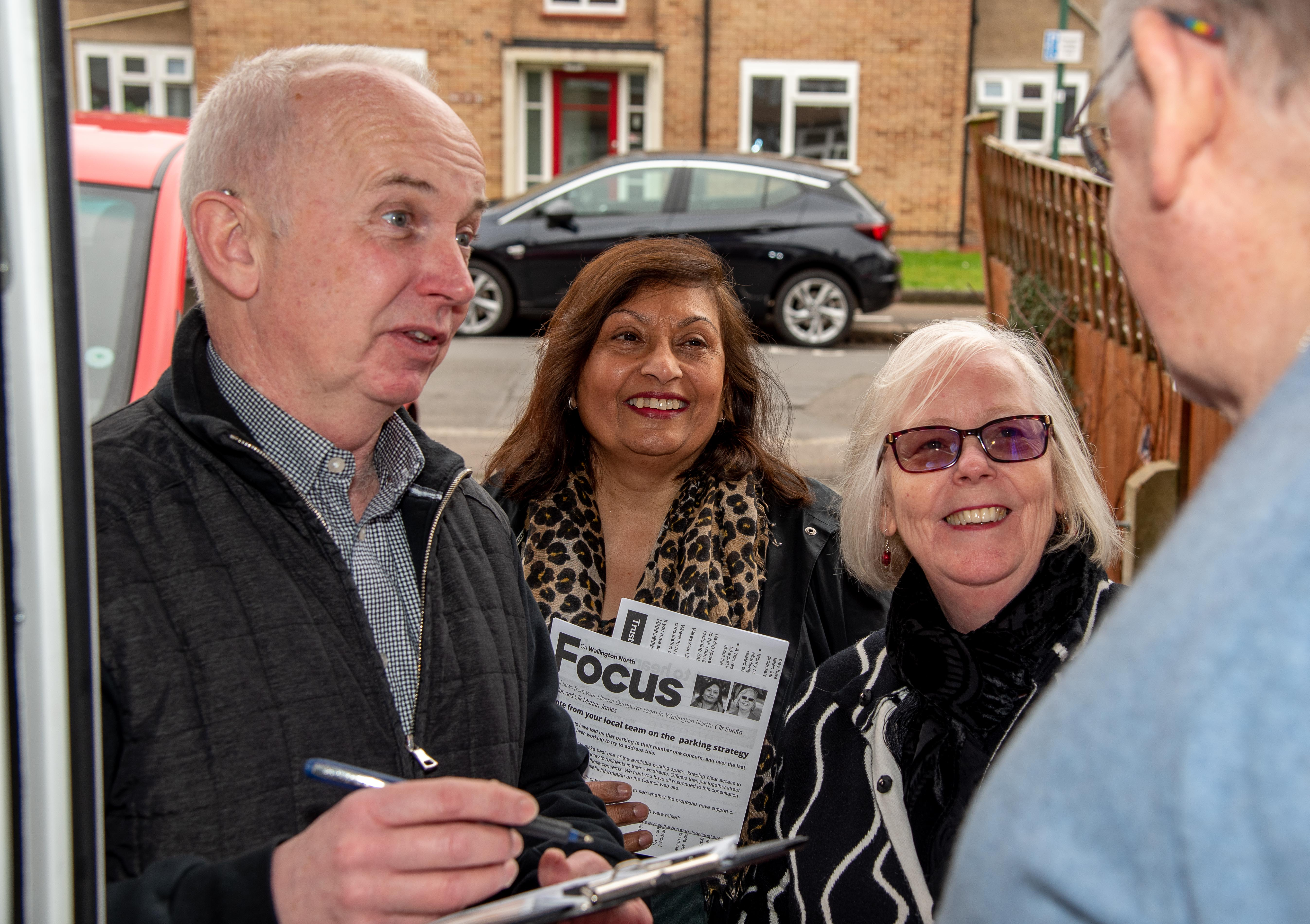 Barry Lewis will be a local champion for Wallington North