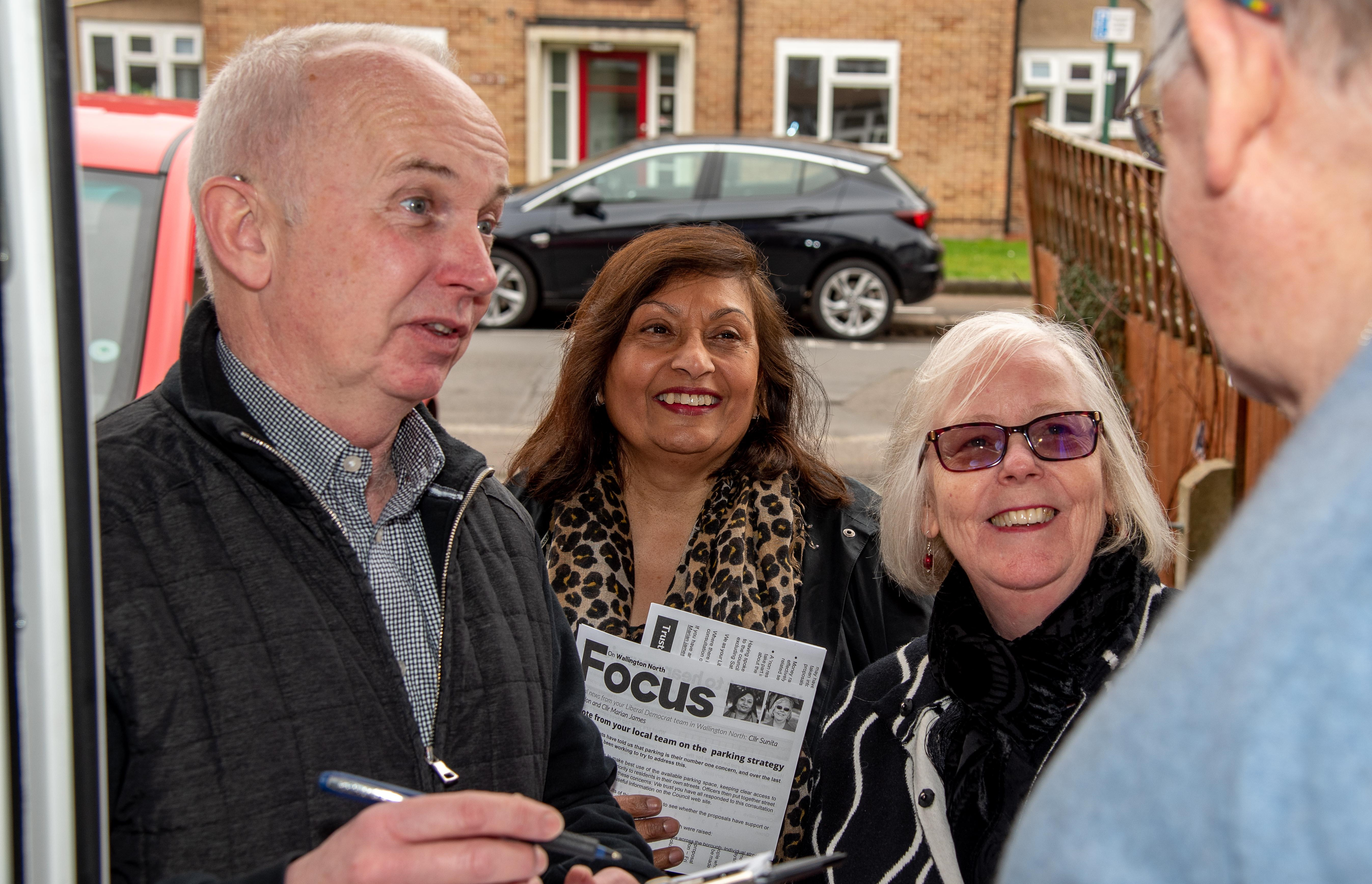 Brake Backs Barry Lewis in the Wallington North By-Election