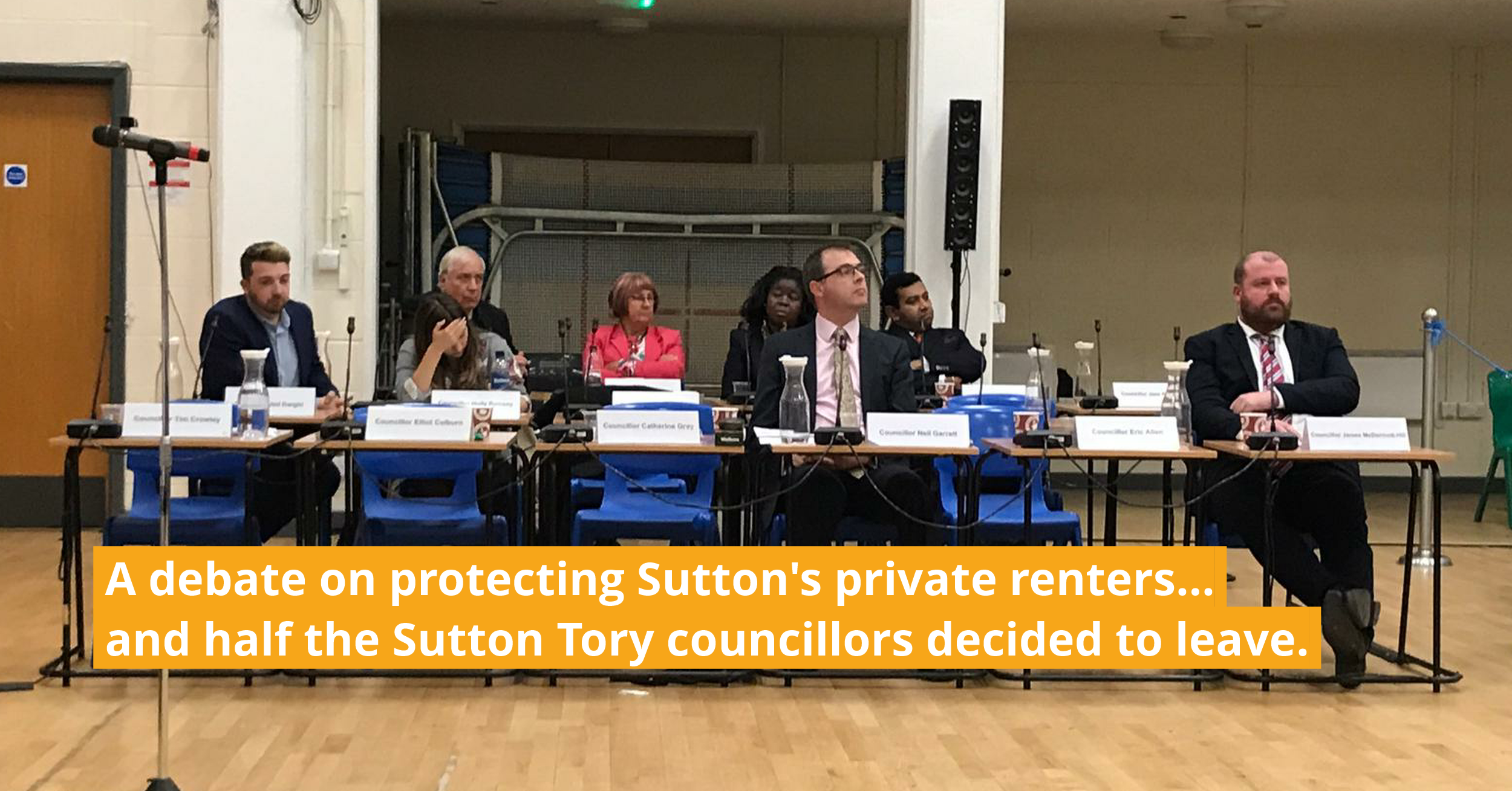 Sutton Tories refuse to back THEIR OWN ministers on better protection for private tenants