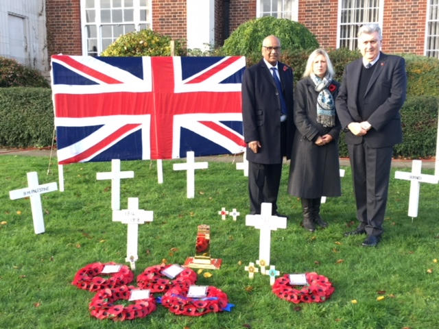 Lib Dems support Wallington's unique remembrance event
