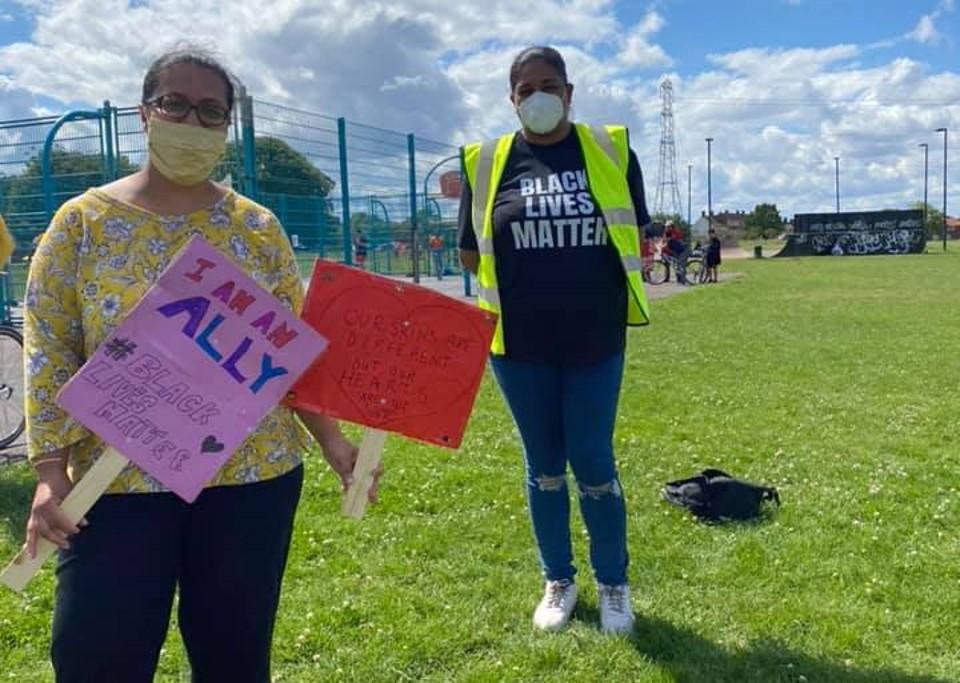 Black Lives Matter in Sutton