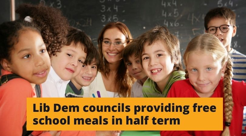Sutton Council to provide Free School Meals for local children after Tory Government failure