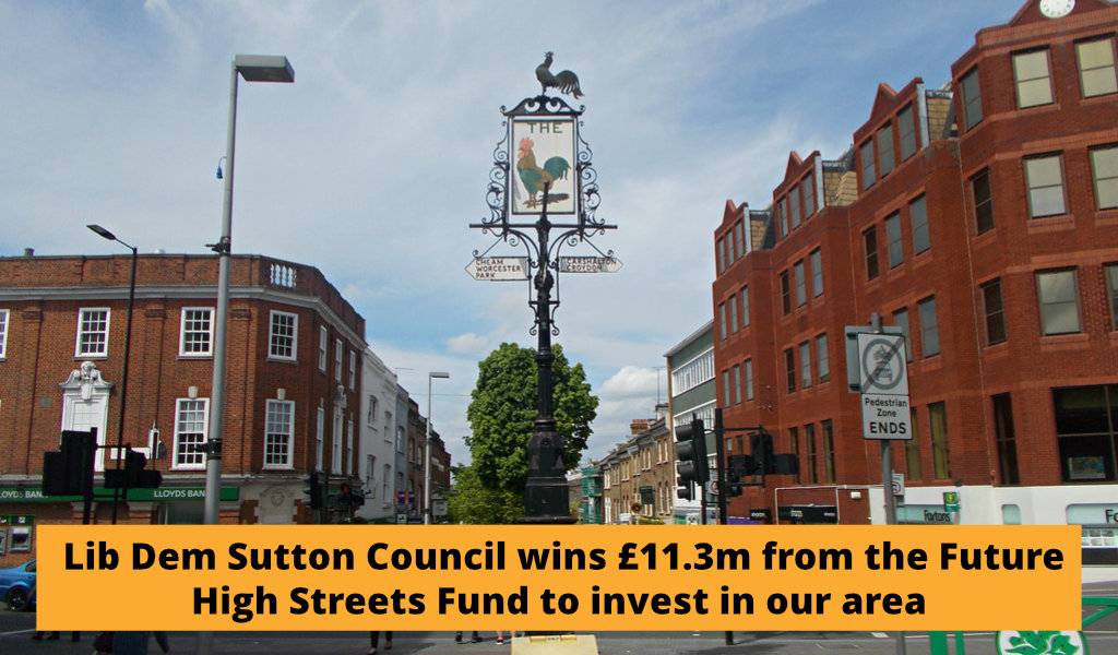 Lib Dems welcome successful funding bid to reinvent high street