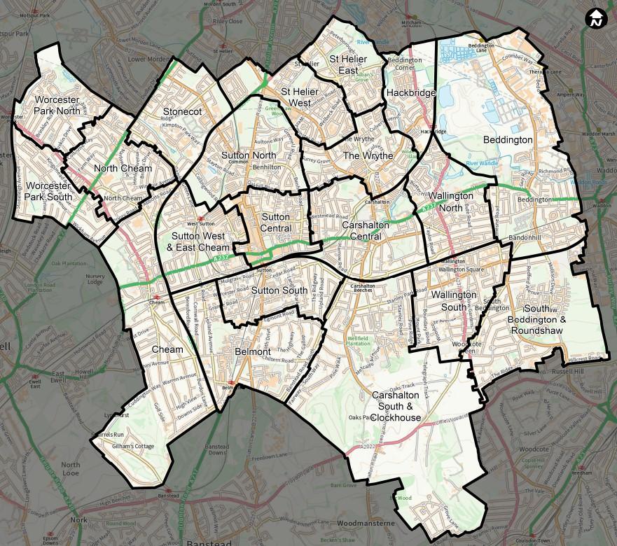 2022 Borough Map