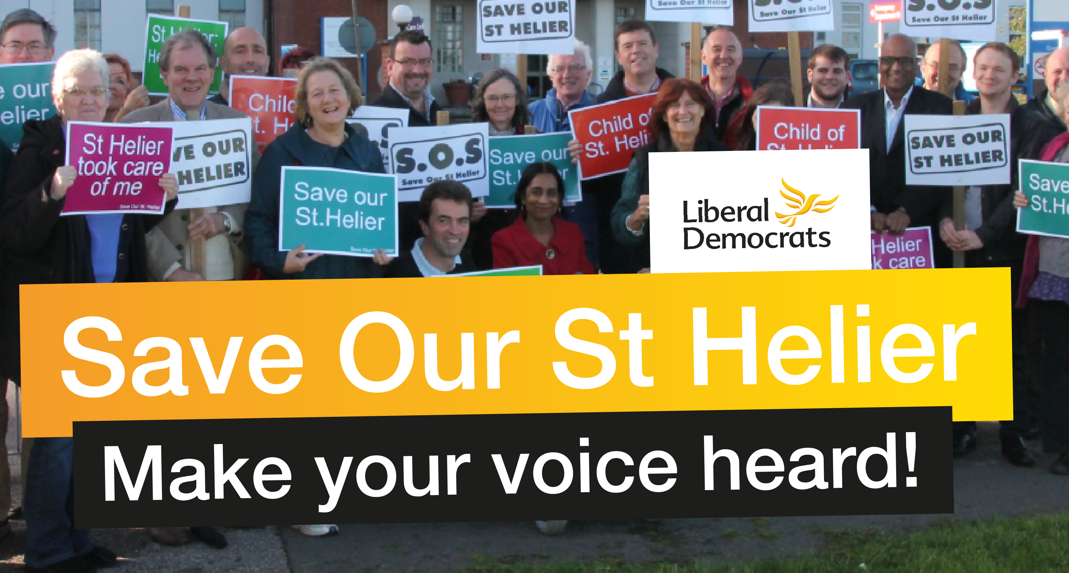 Join the campaign to Save Our St Helier hospital