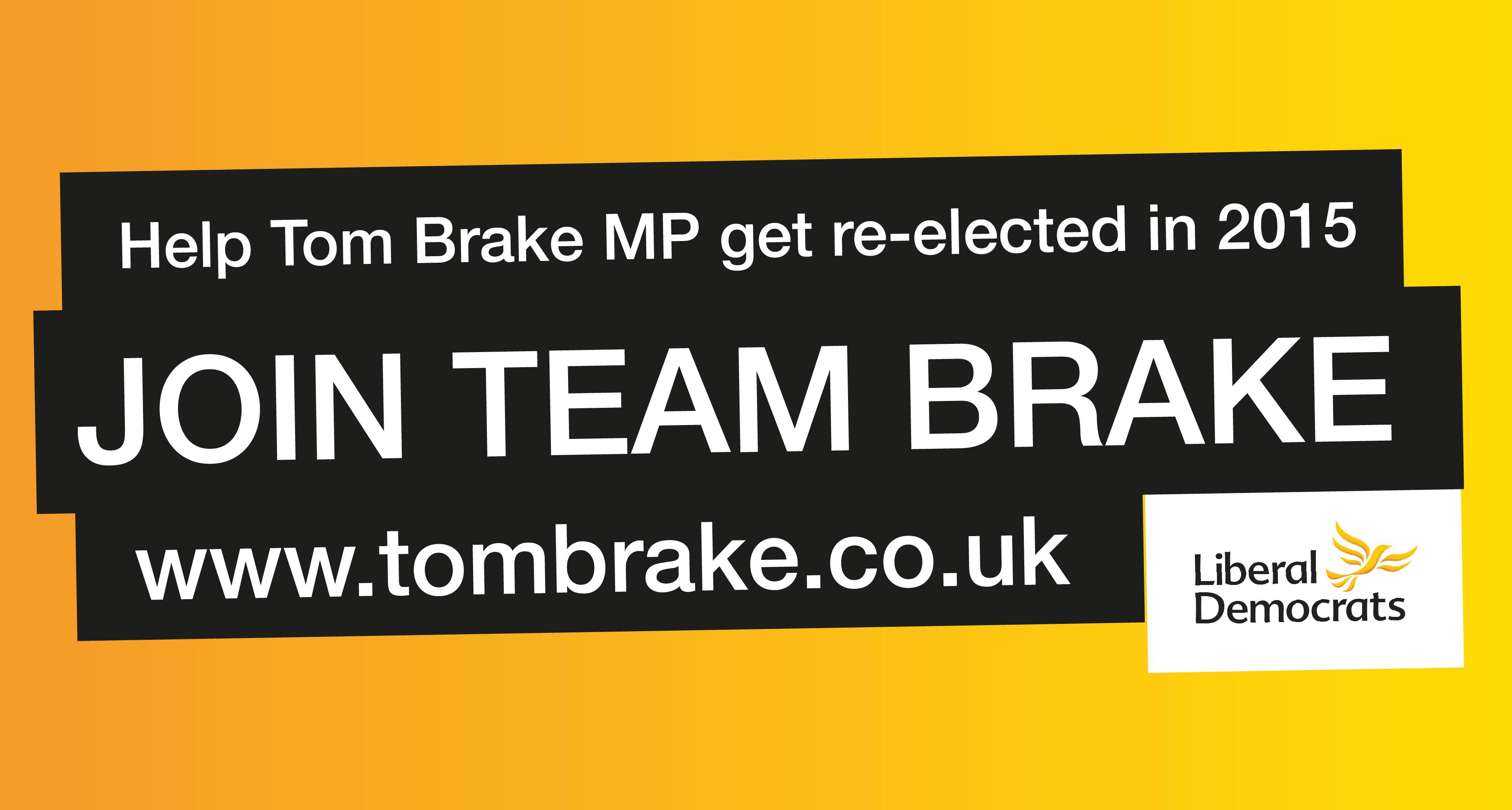 Join Team Brake