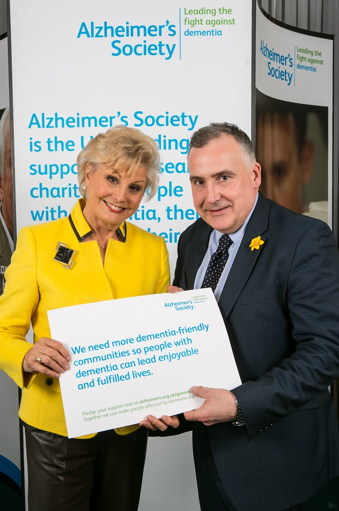 Mark Williams supports dementia awareness