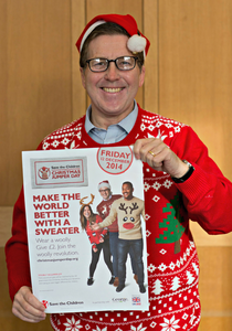 Make the world better with a sweater Save the Children