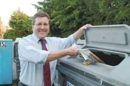 Under Mark's leadership, our local Council has the best recycling record of any Metropolitan Council in the country.