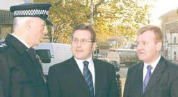Charles Kennedy and Mark Hunter want more police on patrol in our area