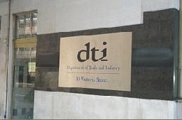 Government Department of Trade and Industry DTI