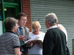 Mark doing a local street surgery