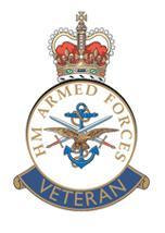 UK Armed Forces Veterans Badge