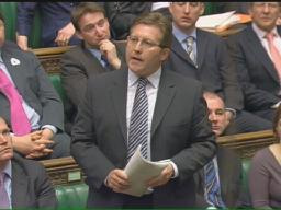 Mark speaking out in Parliament against Tory sleaze