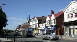 Local shops on Station Road