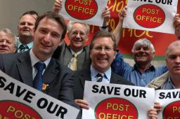 Mark Hunter MP launches Post Office Campaign