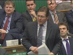 Mark asking question in Parliament