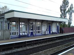 Gatley Railway Station - one of the stations in the CDRUG area