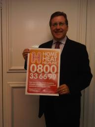 Mark is urging residents to call the Home Heat helpline
