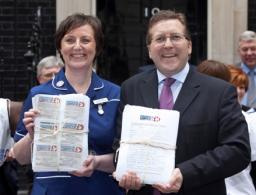 Mark took the successful campaign for cashback for Christie's to 10 Downing Street