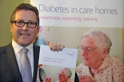 Mark supporting Diabetes UK in Parliament
