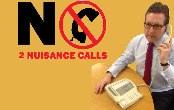 Back Mark's 'no to nuisance calls' campaign